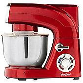 VonShef 1200W Stand Mixer Red