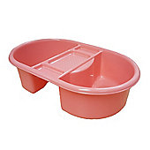 Strata Top and Tail Bathing/Wash Bowl (Pink)