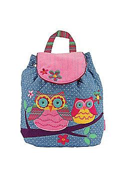 Children's Polka Dot Owl Signature Backpack
