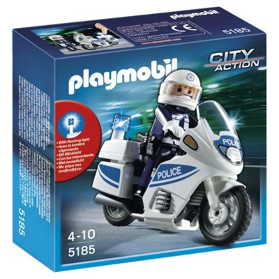 Playmobil 5185 City Action Police Motorbike