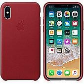 """Apple MQTE2ZM/A 5.8"""" Skin case Red mobile phone 14.7 cm (5.8"""")"""