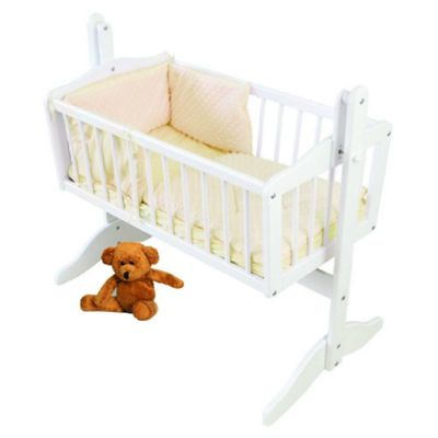 PreciousLittleOne Crib Set (Dimple Cream)