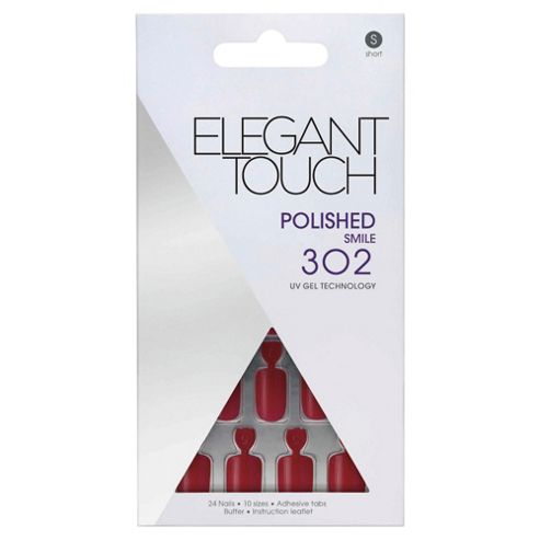 Elegant Touch Polished, Red (Smile) 302