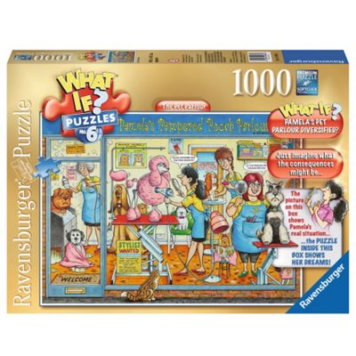 Ravensburger 1000 Piece Puzzle What If? No 6 The Pet Parlour