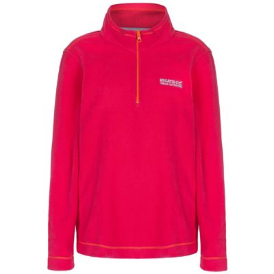 Regatta Hot Shot II Childrens Lightweight Fleece Virtual Pink 11-12