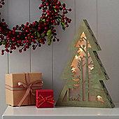 Light Up Table Top Christmas Tree