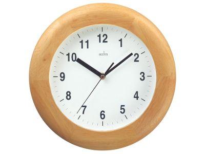 Acctim 92W/355 Avebury Wood Wall Clock Pine
