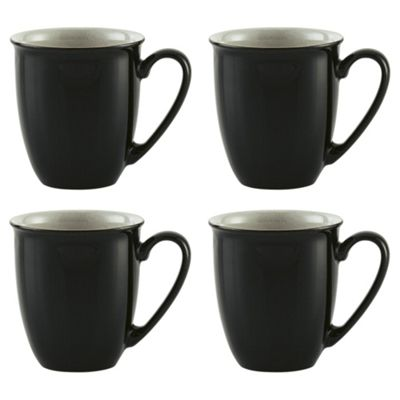 Set of 4 Denby Everyday Black Pepper Mugs  sc 1 st  Tesco & Buy Set of 4 Denby Everyday Black Pepper Mugs from our Mugs Cups ...