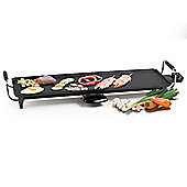 X-Large Teppanyaki Electric Table Top Grill with Thermostat and 70cm non-stick Griddle