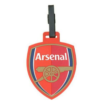 Arsenal F. C. Luggage Tag.