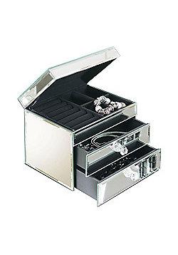 Ashleigh Venetian Mirrored Jewellery Box with 2 Drawers
