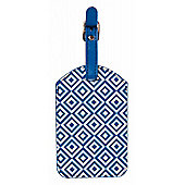 Trendz Geometric Luggage Tag