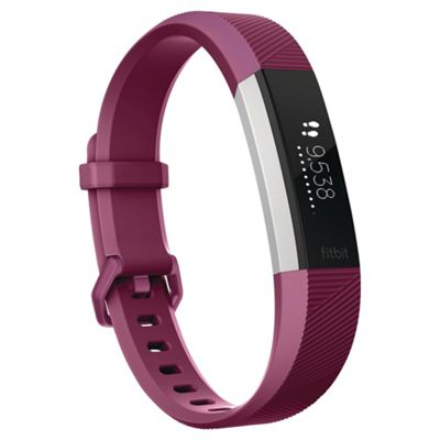 activity trackers fitbit polar watches tesco fitbit alta hr fuschia small