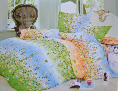 Summer Flowers Half Set Bedding Single Duvet Cover