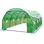 Outsunny Walk-In Greenhouse Steel Frame 6M x 3M x 2M