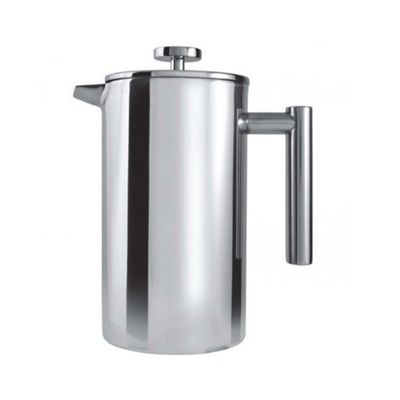 18/10 Double Wall Straight Cafetiere 8 Cup/1 L