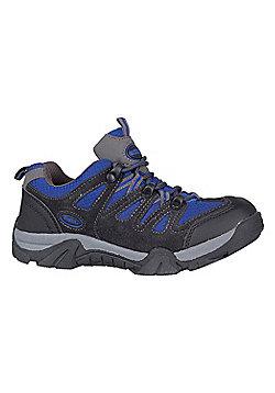 Mountain Warehouse Cannonball Kids Walking Shoes - Blue