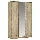 Kensington 3 door wardrobe (inc mirror)