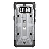 UAG Feather-Light Composite, Military Drop Tested, Rugged Plasma Phone Case - Samsung Galaxy S8 - Ice / Clear