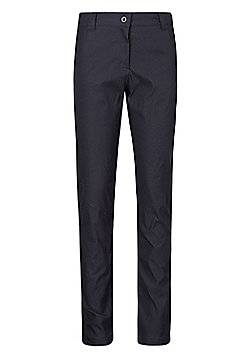 Mountain Warehouse Stretch Womens Cargo Trousers - Black