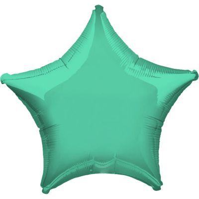Wintergreen Star Balloon - 19 inch Foil
