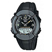 Casio Collection Mens Black World Time Watch HDC-600-1BVES