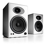Audioengine A5+ Powered Speakers (Pair) High Gloss White