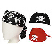 Pirate Bandana Hat - 1 Chosen at Random