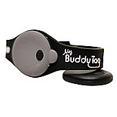 Buddy Tag Child Tracking Device Wristband - Black Silicone