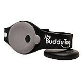 Buddy Tag Child Tracking Device Wristband - Black Silicone