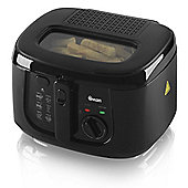 Swan 2.5L Square Fryer - Black