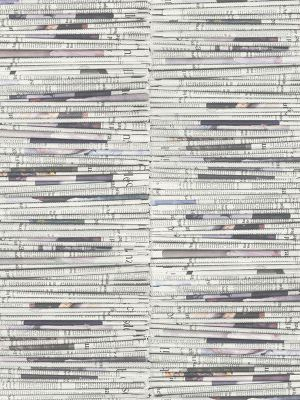 Rasch Stacked Newspapers Wallpaper 934601