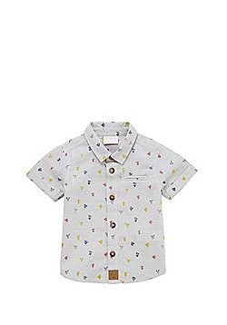 F&F Cactus Print Shirt - Grey