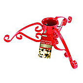 Gardman 5 Inch Christmas Tree Stand Red Sparkle