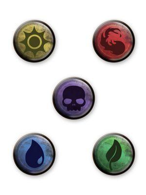 Magic Elements Badge Pack