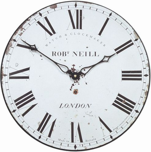 Roger Lascelles Clocks London Clockmaker's Wall Clock