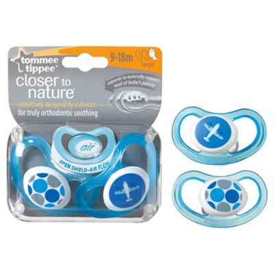 Tommee Tippee C-Air Soothers 9-18 months