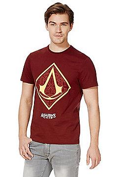 Assassin's Creed Logo T-Shirt - Burgundy