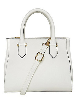 F&F Square Midi Bag White One Size