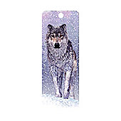 Cheatwell Games 3D Bookmark - Snow Wolf