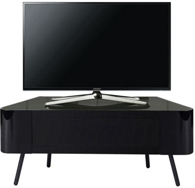 MDA Nova Black TV Cabinet for up to 50 inch TVs