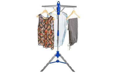 Andrew James Easy Hang Clothes Hanger & Dryer for up to 30 Items - Folds Flat to Store
