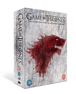 Game Of Thrones - Seasons 1-2 (DVD Boxset)