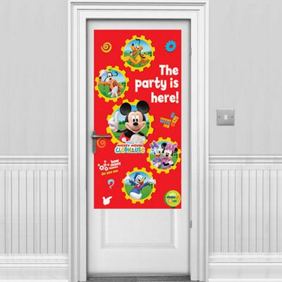 Mickey Mouse Door Banner - 1.7m