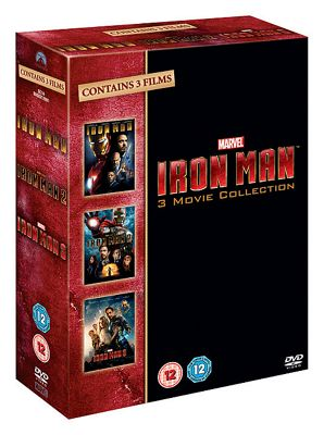 Iron man 1-3 Trilogy Box Set Collection