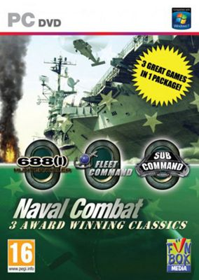 Naval Combat Games Pack - 3-in-1