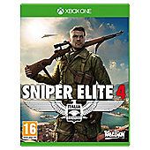 Sniper Elite 4 Standard Edition - Xbox One