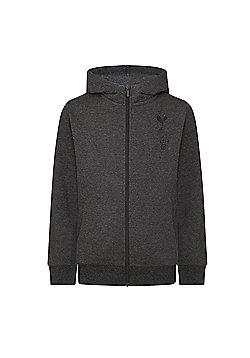 Tottenham Hotspur FC Boys Zip Hoody - Grey