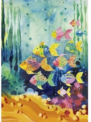 Shoal of Fish - Lovely Times - 1000pc Puzzle