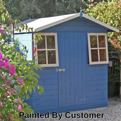 casita summerhouse shed 7x7 by finewood
